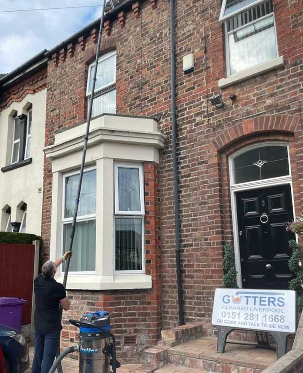 gutters cleaned liverpool